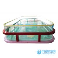 婴儿游泳馆全透明大池子可摄影儿童游泳池嬉水池