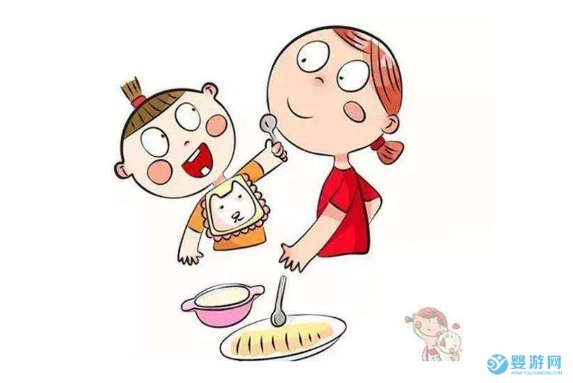 宝宝独立吃饭的黄金时期,这三个做法别错过!怎么培养宝宝独立吃饭 宝宝学会独立吃饭方式 宝宝独立吃饭最佳时间1
