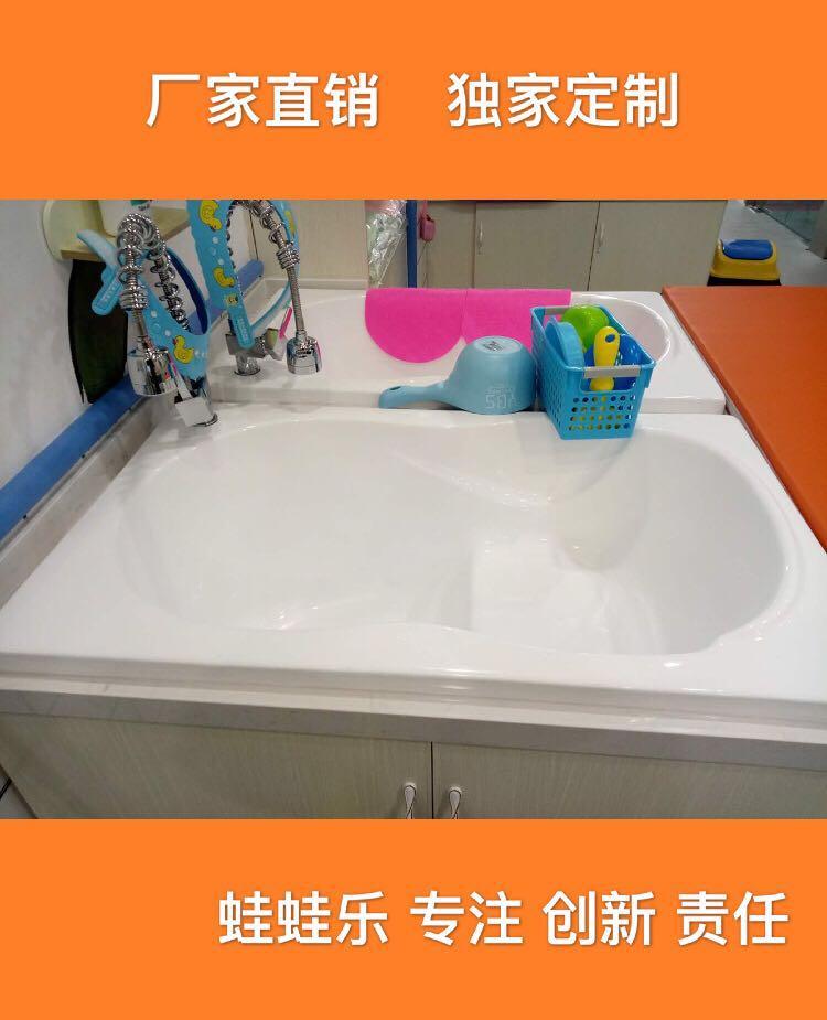 婴儿游泳馆专用 亚克力洗澡盆 沐浴盆 游泳池 婴儿洗澡盆